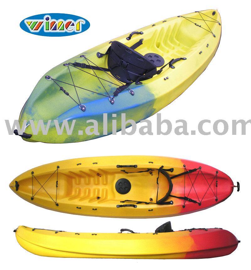 Plástico kayak, Sea kayak, Siéntese solo en Kayak superior, 1 persona Kayak