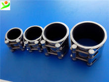 Sealing flexible coupling for gas pipeline