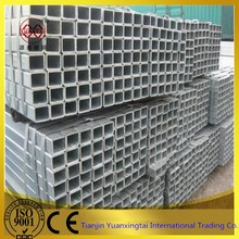 High precision hot dip galvanized square steel tube manufacture China