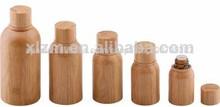 madera botella de aceite esencial