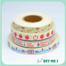 cotton twill ribbon webbing tape insulation printed webbing