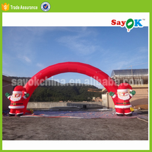 christmas used inflatable arch rental price,pvc inflatable archway