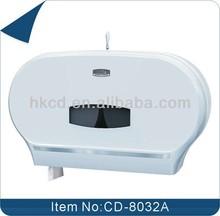 Handmade twin roll fort howard paper towel dispenser, sanitary recessed toilet tissue holder for bathroom CD-8032A