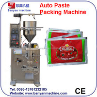 shangahi manufacturers Automatic sauce/meat sauce/paste/soybean paste Packing Machine