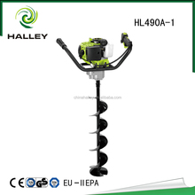 2 stroke petrol hand drill specification earth auger HL490A-1