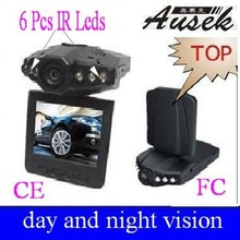 720p car camera Supports sd card with 1/4 color CMOS