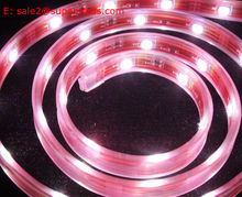 DC12V 3528 60smd/m pink color car auto indoor and outdoor led light bar