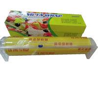 good transparent and stretch pvc plastic wrap pvc cling film for food wrap