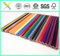 high quality colored pencil for drawing and writing , 7'' basswood 24pcs color pencil pass FSC