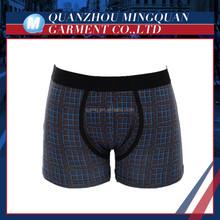 all-over print organic cotton men's underwear boxer