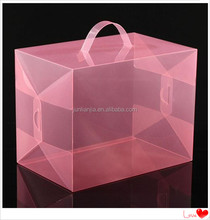 Plastic storage box with handle,for collection,display