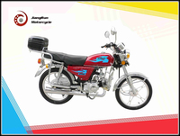 90cc Russian ALPHA street/straddle motorcycle JY90 with carrier box