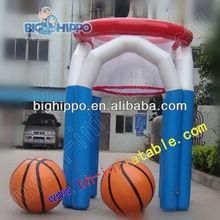 inflatable basketball frame sports game