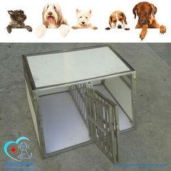 HK-CMO112 medical vet stainless steel dog cage