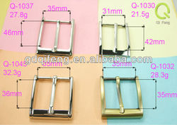 metal clips belt buckles,pin buckle q-1037 , inital pinup belt buckle