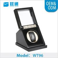 Hot wooden classic MDF leather pair watch gift boxes