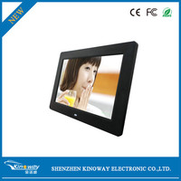 digital photo frame 10 inch slim bezel design with remote control lcd displayer advertising wholesale alibaba video player