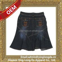 Quality hotsell girls mini short jean dress