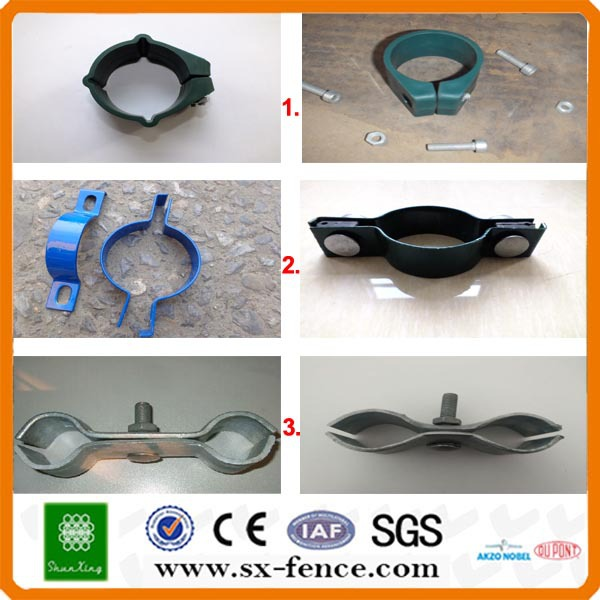 Metal And Plastic Welded Wire Fence Clips / Welded Wire Mesh Fence ...
