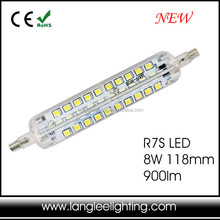 New R7S J78 J118 SMD LED Light Bulb Replacement Floodlight Tube Lamp 78mm 118mm