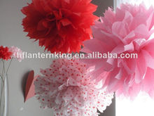 party decoration paper pom pom new product decoration idea