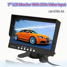 7' 'car stand alone rear view monitor| 7 inch in dash car tv monitor