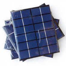 Waterproof 0.5W 1W 2W 230ma poly small epoxy resin solar panel