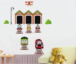 1 Set DIY high quality Thomas the Tank Train Wall Sticker Decor Decals Removable Art Kid BOY'S nursery Bedroom decals 738