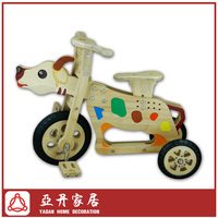 Chinese Zodiac cattle bamboo children tricycle,kids tricycle,baby tricycle,pedal car