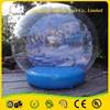 Popular selling human festival decoration inflatabale large snow globe