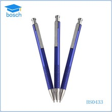 Cheap school pen/business metal pen/print logo ballpoint pen