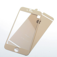 Wholesale Matte colorful tempered glass for iphone6 plus, color screen protector for iphone6 plus
