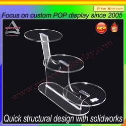 New product acrylic display shoe counter