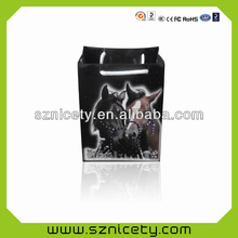 High quality LED light flashing shopping bags for promotional gifts
