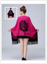 high quality fashion lady winter shawl Thick knitting pashmina scarf