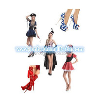 Adult drop ship carnival styles junhou hot sale party costume with shoes