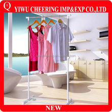 wholesale high quality fancy metal hooks shop clothes hanger stand