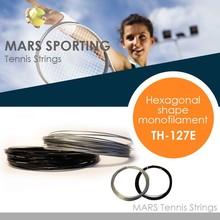 Hot sale hexagonal shape comfortable great power tenni string racket