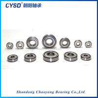 Shandong factory deep groove ball bearing 6016