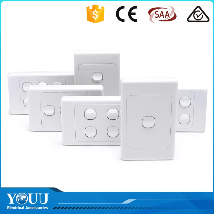 Youu Export Goods Modular Brass Plates Electrical Home Switch Types ...