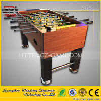 WD-ST01 Wangdong 2015 coin operated table hand soccer game made in panyu city