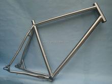 Street bicycles titanium road bikes fixie frame supplier