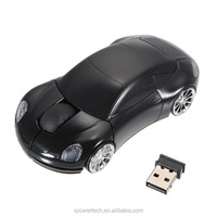 2.4G Wireless Mini Optical Car Mouse for Laptop
