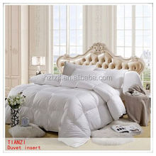 300T combed cotton white hotel jacquard bed set duvet cover made from nantong