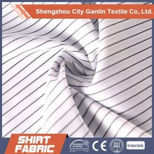 TC check/stripe yarn dyed shirting fabric Wholesale