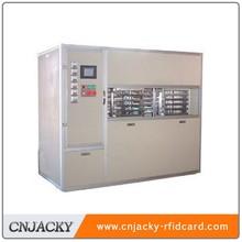 Full auto lamination machine for PVC/ID/IC/RFID card making