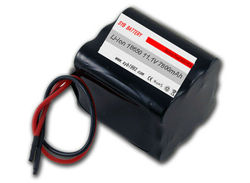 high quality widely used 18650 rechargeable battery pack 11.1v 7800mah