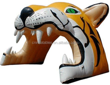 2015 new design inflatable advertising arch tiger