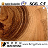 decorative luxury natural Wood Grain yellow marble stone slab, yellow marble
