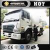 XCMG concrete truck 6X4 12m3 portable concrete mixing machine